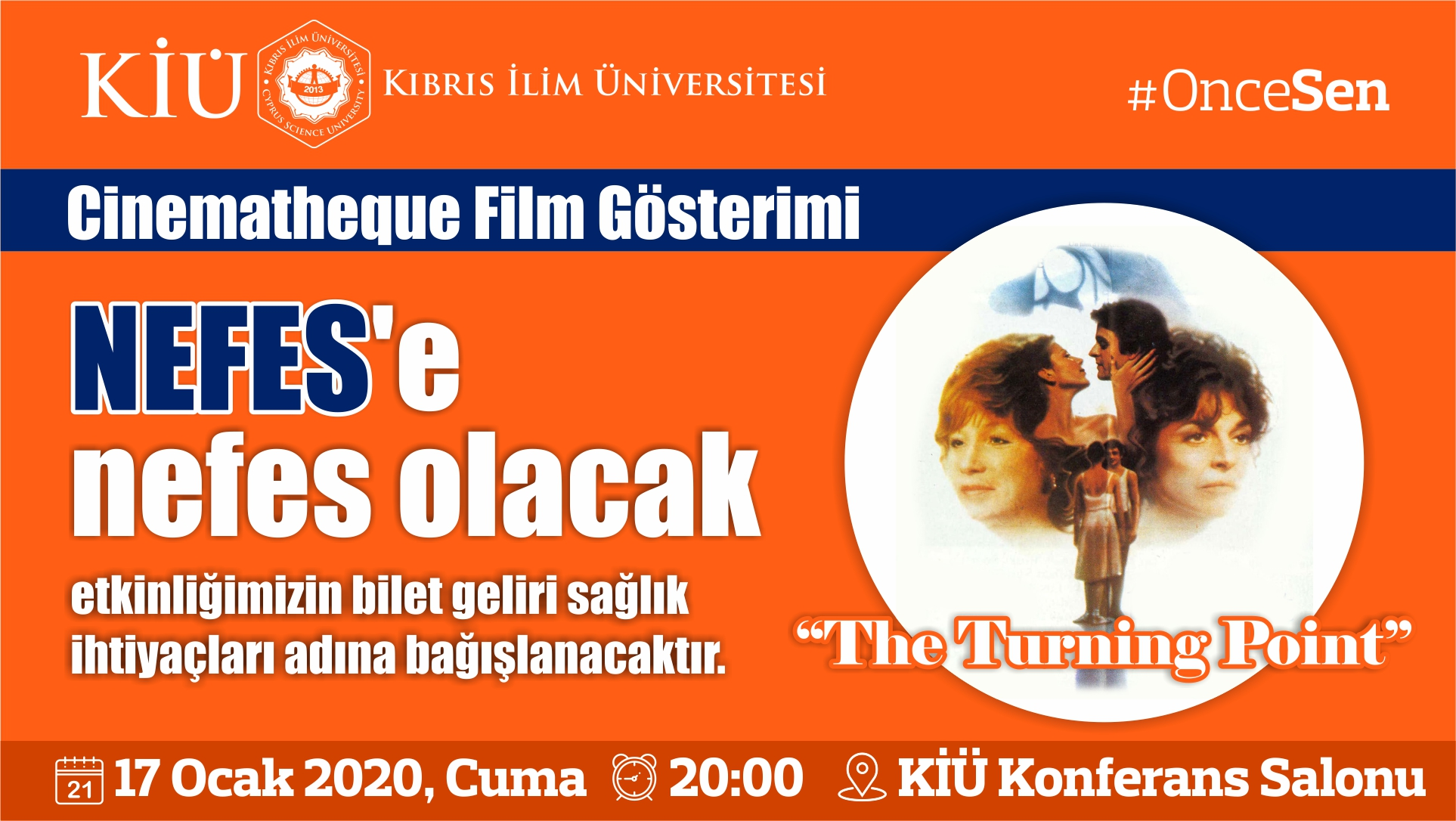 Cinematheque Film Gösterimi